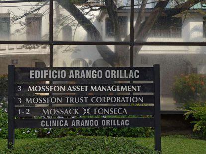 The Mossack Fonseca company headquarters in Panama.