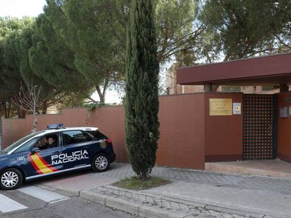 North Korean embassy in Madrid.