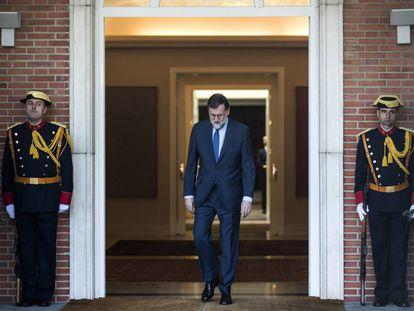 Spanish Prime Minister Mariano Rajoy.