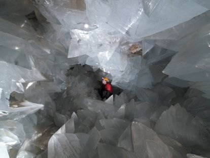 The geode of Pulpí, in Almería, will open to the public this year.
