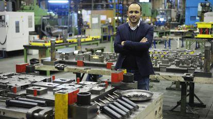 Álvaro Herrero, a manager at a Santander-based SME.