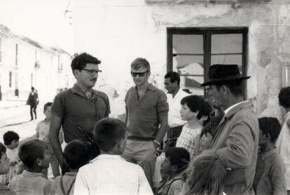 Freddy Wildman and Lars Pranger in Alhaurín el Grande.