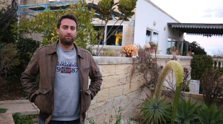 Matthew Caruana Galizia, son of murdered journalist.