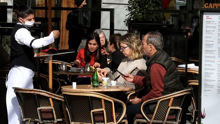 Unlike other parts of Spain and many European capitals, Madrid has not closed its bars and restaurants despite high infection rates.