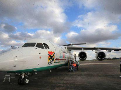 A plane belonging to Lamia's fleet.