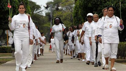The Ladies in White, pictured in Havana.