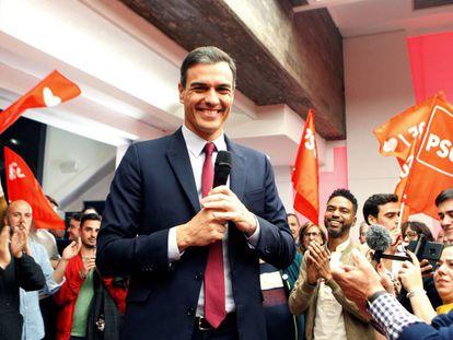 PSOE leader Pedro Sánchez.