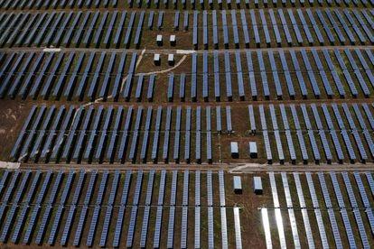 A solar plant in Trujillo, Cáceres.