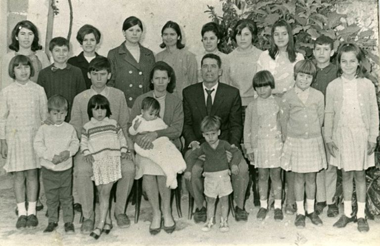 The Ojeda Artiles family was awarded the National Birth Prize in 1969.