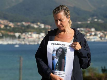 Diana López-Pinel, the mother of missing teen Diana Quer.