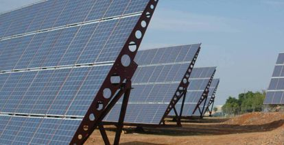 Conventional solar panels require rigid support structures and large spaces for installation.