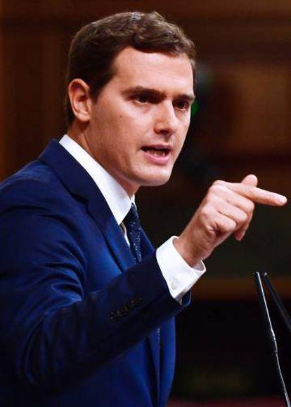 Ciudadanos leader Albert Rivera said he will be watching Rajoy closely.