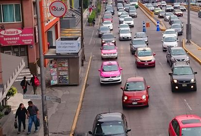 Subsidized gas prices in the past have helped fuel Mexico City's love affair with the car.