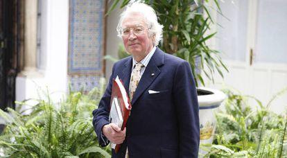 British historian Hugh Thomas in 2008.