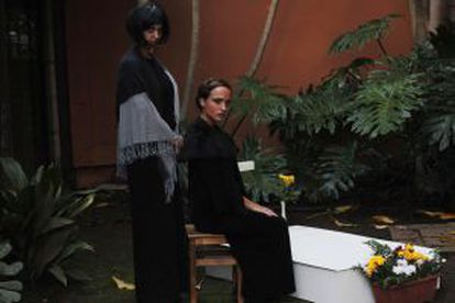 A dramatized rendering of the Night of the Deceased in Tenerife.