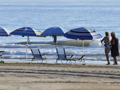 Gandia is one of the areas that's decided to remove unattended umbrellas