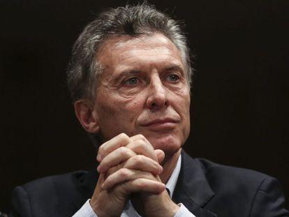 Mauricio Macri, President of Argentina.