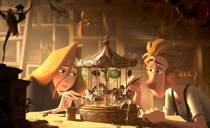 The Spanish animation feature 'Klaus' is nominated for an Oscar.