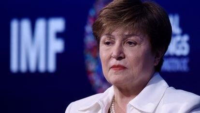 IMF chief Kristalina Georgieva in Washington DC.