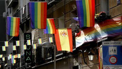 Madrid's Chueca neighborhood is the hub of World Pride Madrid 2017.