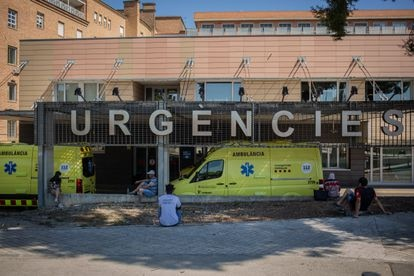 Arnau de Vilanova Hospital, in the city of Lleida, has seen a surge in coronavirus admissions.