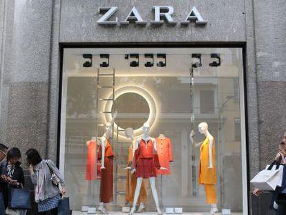 A Zara store in Nice, France.