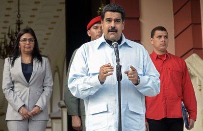 Presidente Maduro in Caracas on Wednesday.