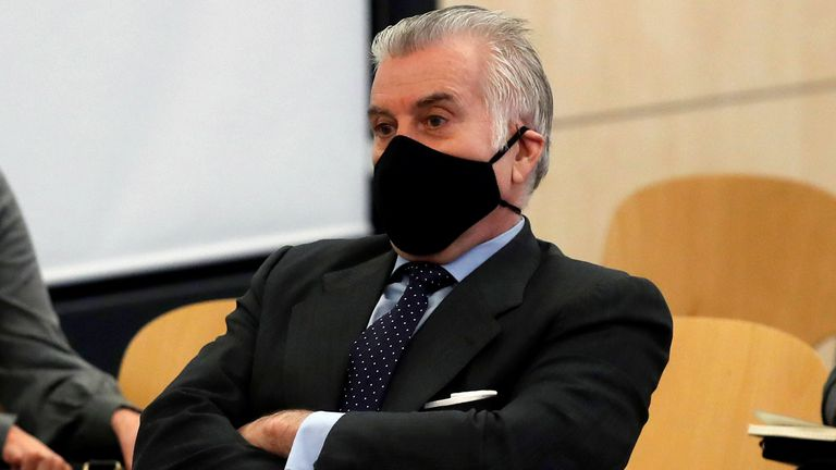The PP's ex-treasurer Luis Bárcenas back in court on day one of the trial that opened at Spain's High Court on Monday.