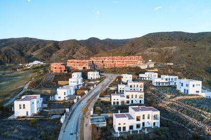 Development in Mojácar, Almería. Click to enlarge.
