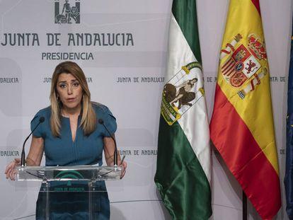 Premier of Andalusia Susana Díaz.