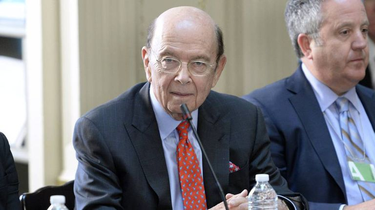 US Commerce Secretary Wilbur Ross.