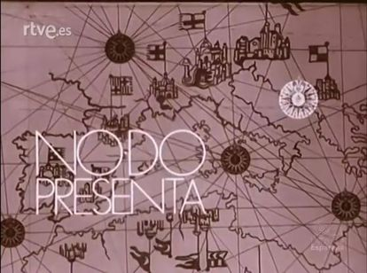 The opening titles of one of No-Do's newsreels.