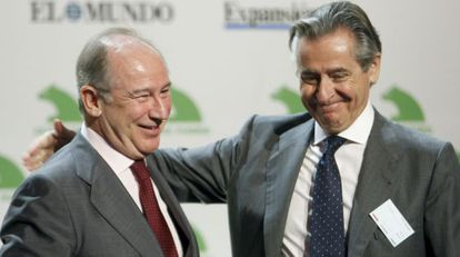Rodrigo Rato (left) and Miguel Blesa are being investigated by the High Court.