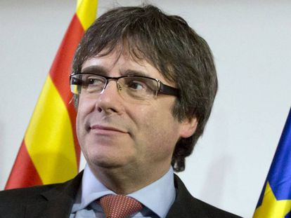 Ousted Catalan premier Carles Puigdemont.