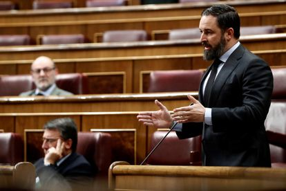 Leader of the far-right Vox, Santiago Abascal
