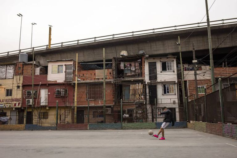 Villa 31, one of the poorest neighborhoods in Buenos Aires.