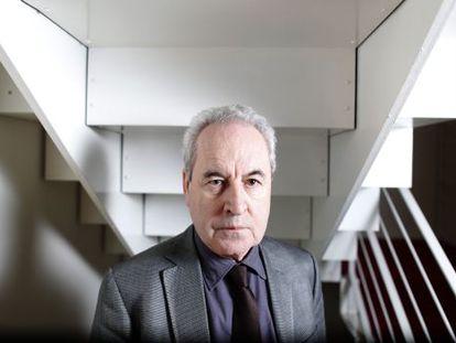 Writer John Banville in Madrid