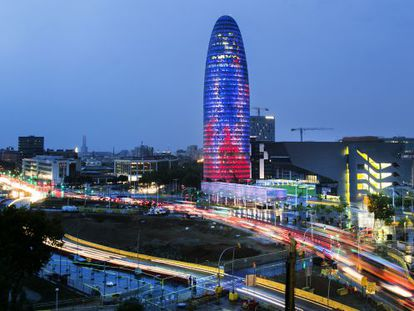 The former headquarters of Aguas de Barcelona, whose majority shareholder Suez has moved its tax residency to Madrid.