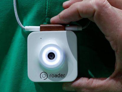 Roader minicamera presented this Monday at a fair in Las Vegas.