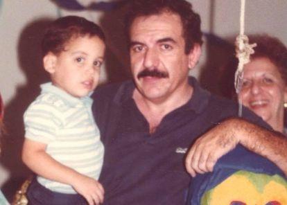 Bukele with his father, Armando Bukele Kattán