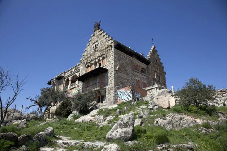 The mansion of Canto del Pico, in Torrelodones.