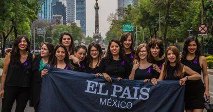 EL PAÍS jounralists in Mexico.
