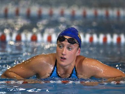 Spain's most successful Olympic swimmer, Mireia Belmonte.