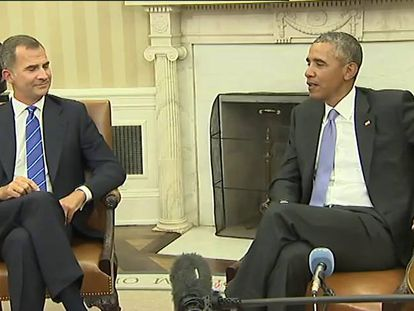 """Obama expresses deep commitment to """"strong, unified Spain"""""""
