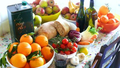 """An example of what passes for the """"Mediterranean diet."""""""