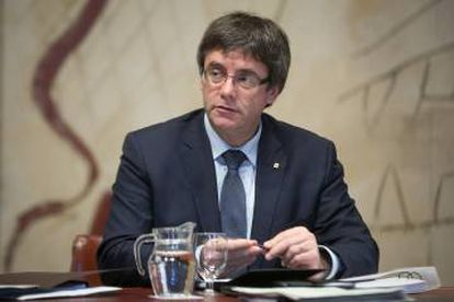 Catalan premier Carles Puigdemont has been asked to speak about his plans in Congress.