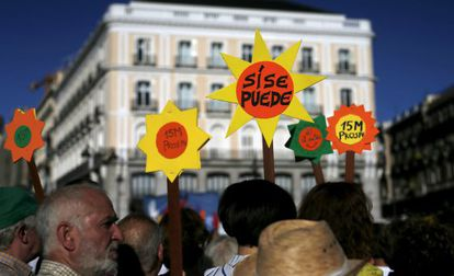 On May 15 of this year, the Indignados movement celebrated its fourth anniversary with a march in Sol Square in Madrid.