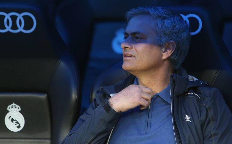 Soccer manager José Mourinho.