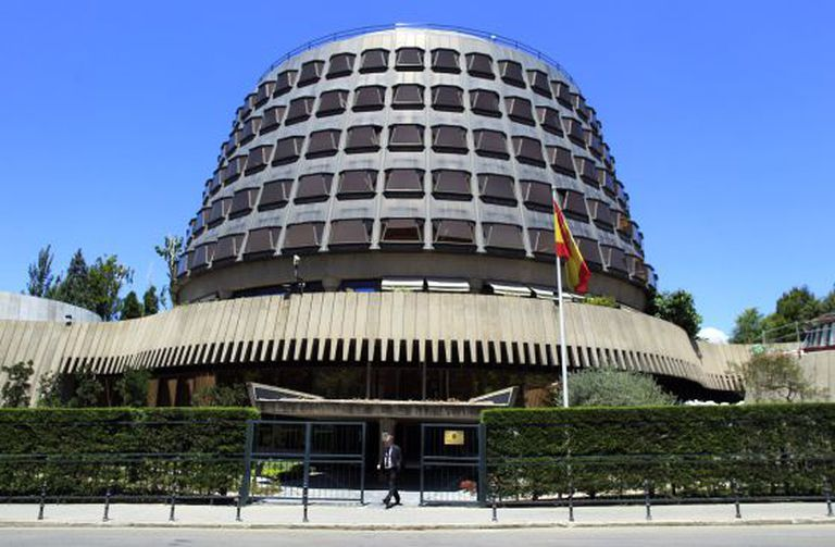 The headquarters of Spain's Constitutional Court.