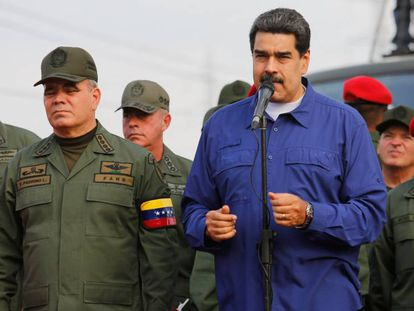 Nicolás Maduro in Aragua (Venezuela).